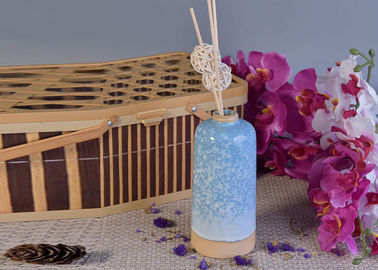 Glazed Aroma Empty Diffuser Bottles And Reeds 580ml Ceramic Candle Holder