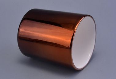 Gradient Color Copper Candle Holder For Gift 10 Oz , Copper Candle Containers