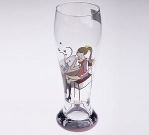 Vintage Hand Painted Champagne Glasses Tumbler Personalized Pattern